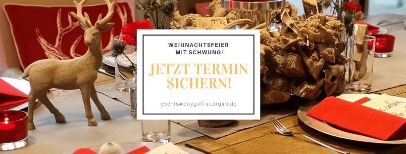 Weihnachtsfeier Termin sichern, Stuttgart